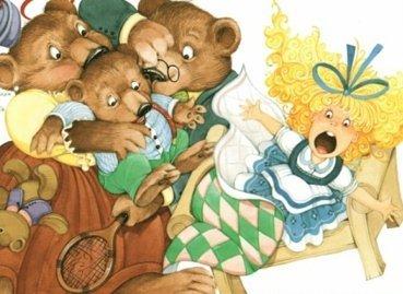 Goldilocks And The Three Bears Kids Yoga Class Plan