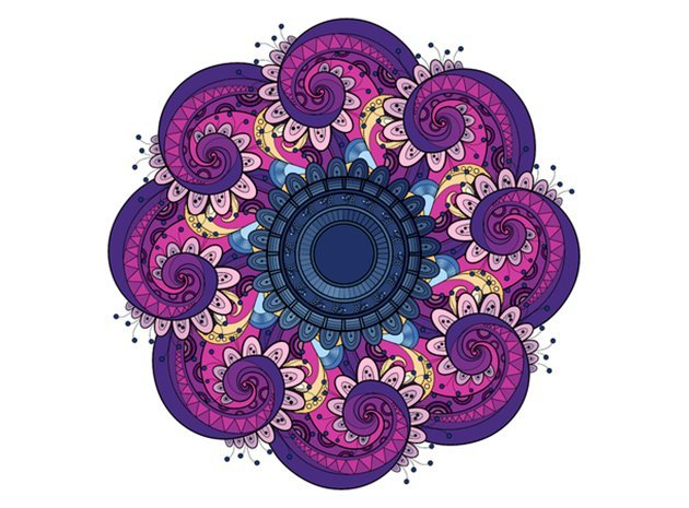 mandala-colouring