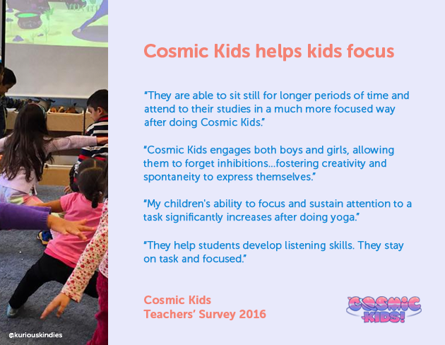 Kids Yoga in Schools - Our 2016 Teacher Survey - Cosmic Kids
