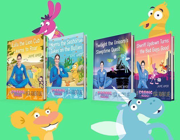 Kids' Yoga Books - Cosmic Kids Books