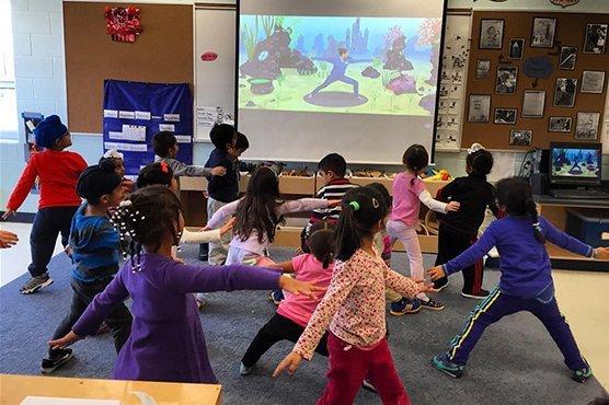 Children's Yoga Benefits