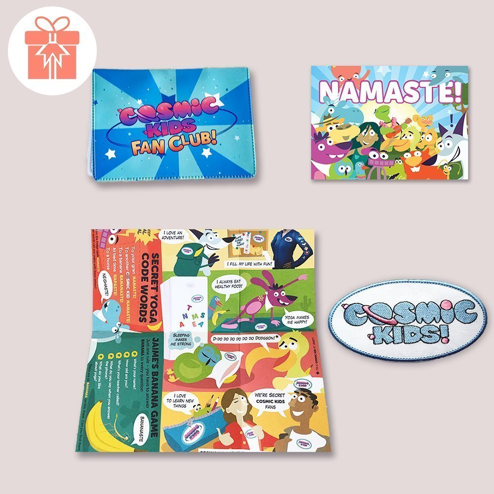 Cosmic Kids Fan Club Packcosmic Kids Yoga
