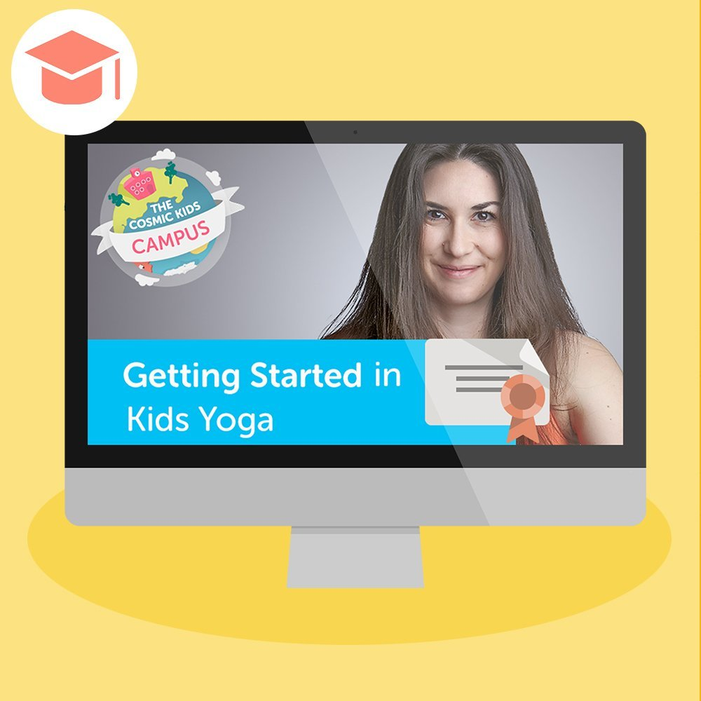 Getting Started In Kids Yoga Online Teacher Training Certificationcosmic Kids Yoga